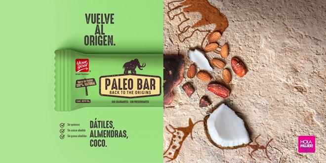Paleo Bar: La barrita natural que rescata las características de la dieta paleolítica