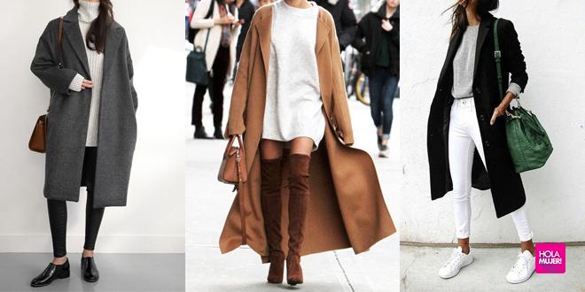 ¡Los abrigos largos están de moda! 15 formas de llevarlo con estilo