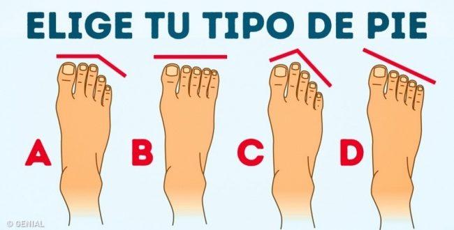¿Qué dice de ti la forma de tus pies? ¡Descúbrelo!